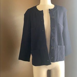 Ann Taylor Jacket with Shoulder Pads